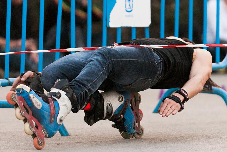 skater, rollerblade, Retiro, Spain, Madrid